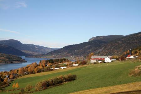 Kulturlandskap på Nord-Tretten. Foto: Jørgen Skaun