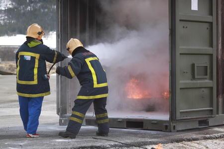 brannøvelse Fjelldal