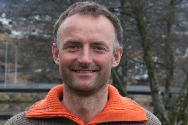 GOD JULEMIDDAG: Det er mykje godt å finne på juletallerkenen til Anders Felde.
