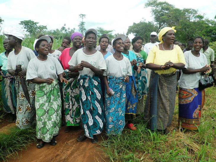 Bønder i Malawi.