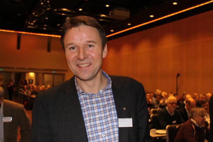 - Glad for medlemsvekst, Lars Petter Bartnes.