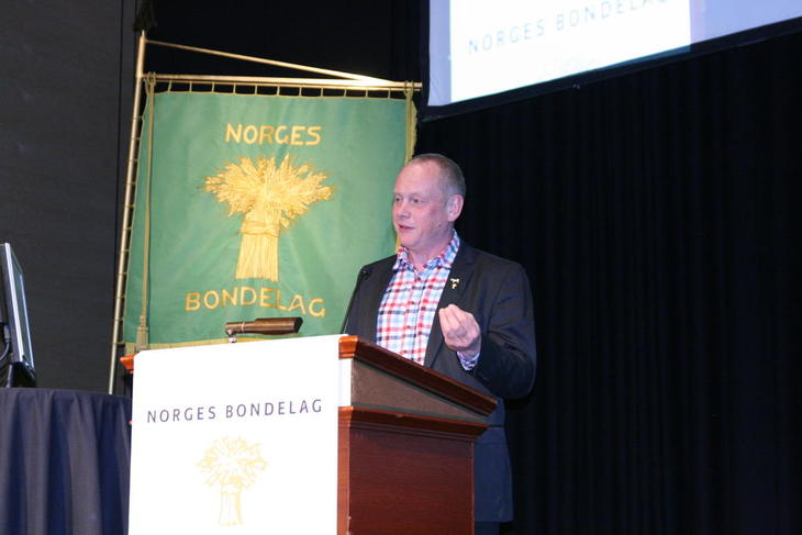 Bernt Skarstad, leder i Nordland Bondelag