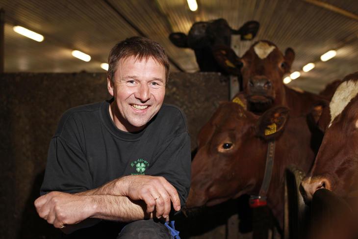 Lars Petter Bartnes, leder av Bondelaget og bonde