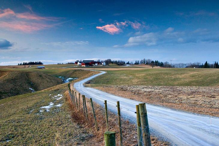 God jul ønskes alle med et bilde fra Verdal. (Foto: Steinar Johansen)