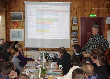 Regionmøte på Bordalen i 2014