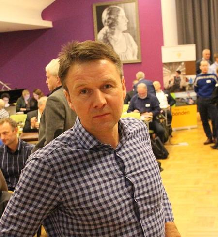 Bondelagsleder Lars Petter Bartnes på representantskapsmøte 11012017