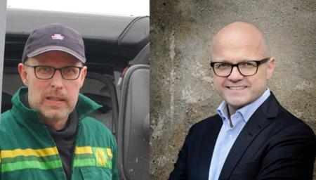 Erling Aas-Eng og Vidar Helgesen