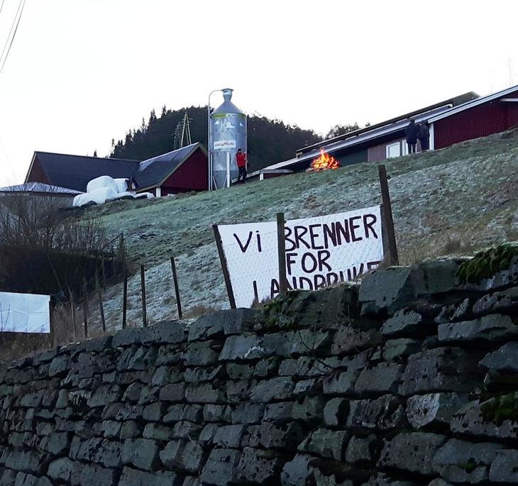 Vi brenner for landbruket (Bergen og Os)