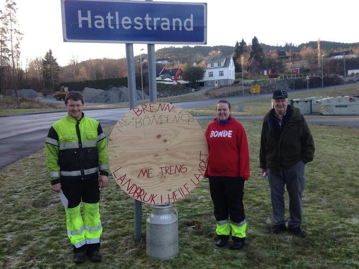 Medlemer i Ølve og Hatlestrand Bondelag