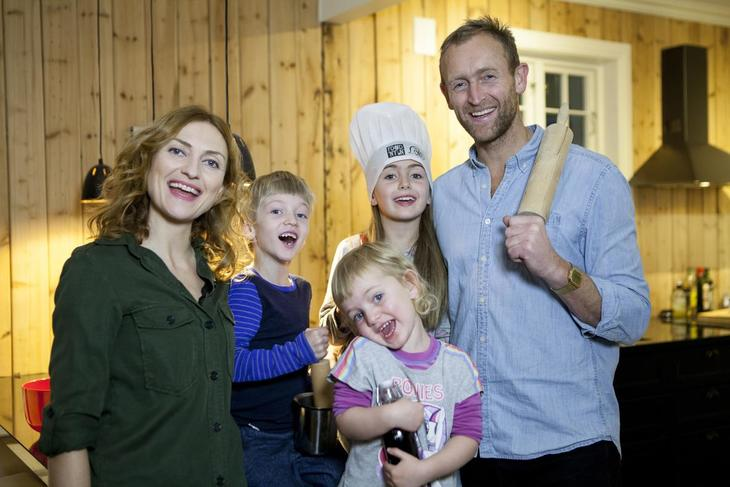 Familien Kleppe/Brufladt. Foto Pandora Film.