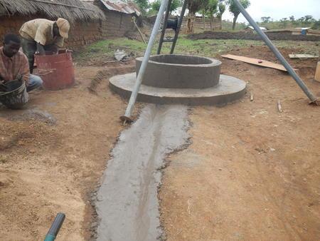 Arbeid med brønn, Sambolabo