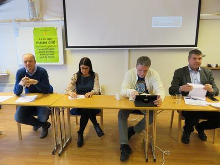 Politikerdebatt på årsmøtet