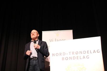 Asbjørn Helland, avtroppende fylkesleder i Nord-Trøndelag Bondelag.