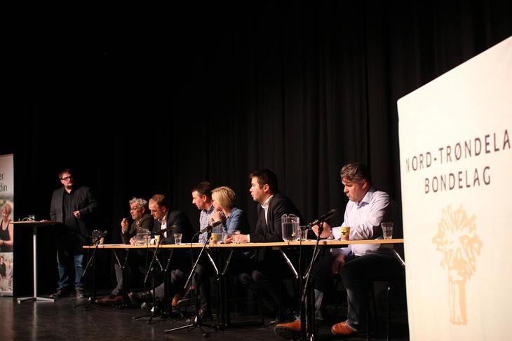 Politikerdebatten ble ledet av Erik Waatland.
