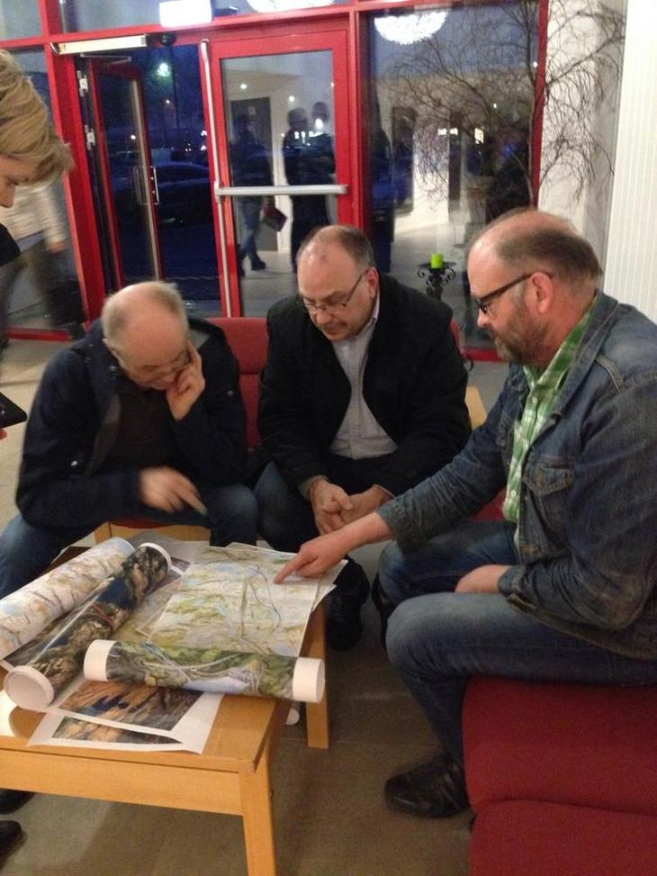 Bønder og næringsforeininga i Bjerkreim diskuterer løysingar for E 39.