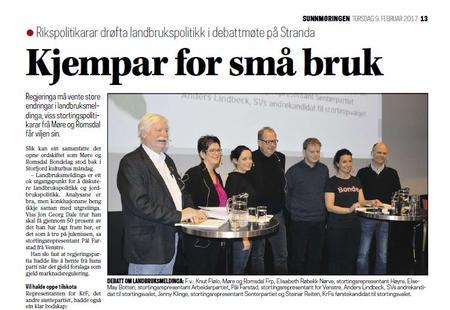 Debattmøte Stranda