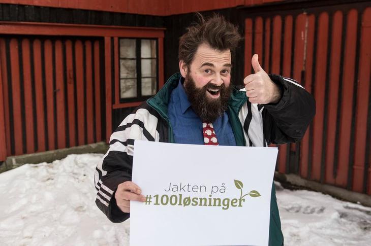 Odin Jensenius presenterer jaktens første klimaløsning