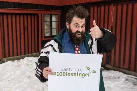 Odin Jensenius jakter klimaløsninger