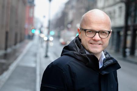 Klima- og miljøminister Vidar Helgesen. Foto: Bjørn Stuedal