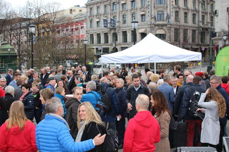 Politikerforkost 2017 i regi av Norges Bondelag