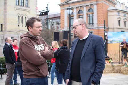 Lars Petter Bartnes og Pål Farstad