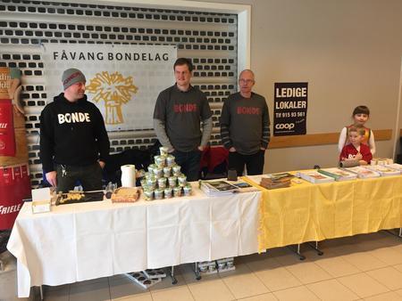 Påske-kampanje Fåvang Bondelag 2017