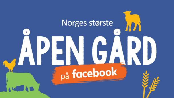 Norges største Åpen Gård - på facebook!