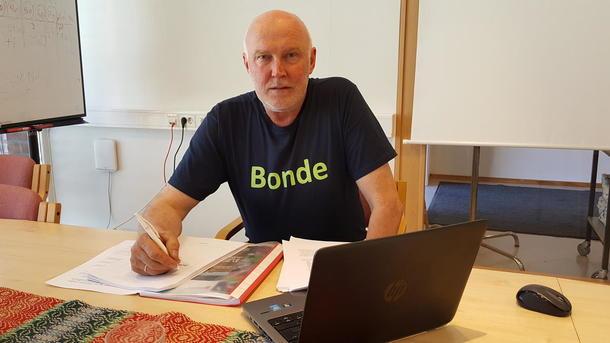 Svend Arild Uvaag, fylkesleder i Østfold Bondelag