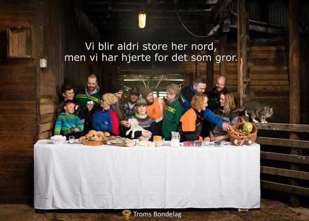 Bønder samlet på Sæteråsen Gård