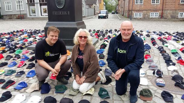Markus Kynningrød, Lise Thorsø Mohr og Svend Arild Uvaag
