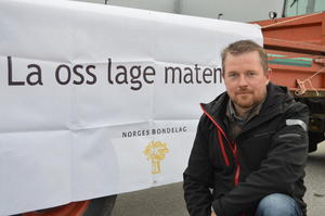 Fylkesleder i Møre og Romsdal Bondelag, Oddvar Mikkelsen.