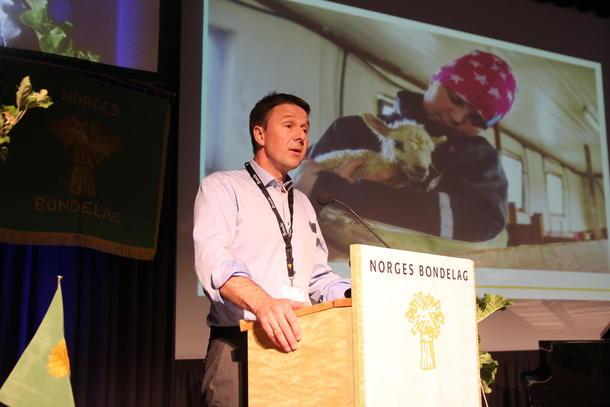 Lars Petter Bartnes taler til årsmøtet