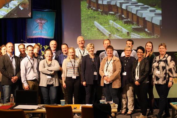 Delegatene fra Østfold