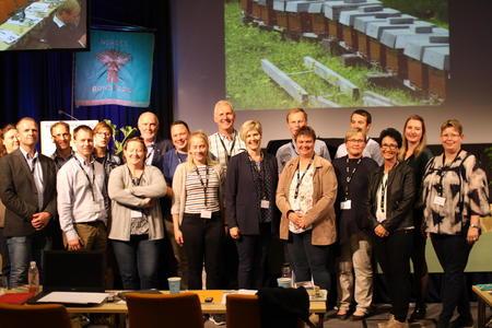 Delegatene fra Østfold til årsmøtet i Norges Bondelag