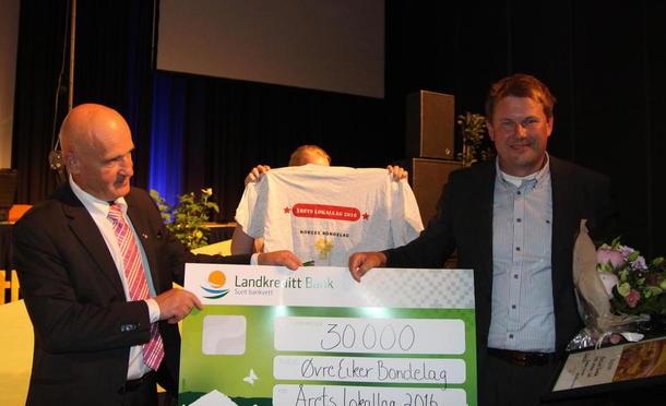Årets lokallag 2016 er Øvre Eiker Bondelag