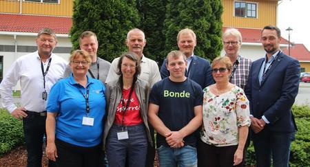 Delegater fra Nordland m fl Bondetinget 2017