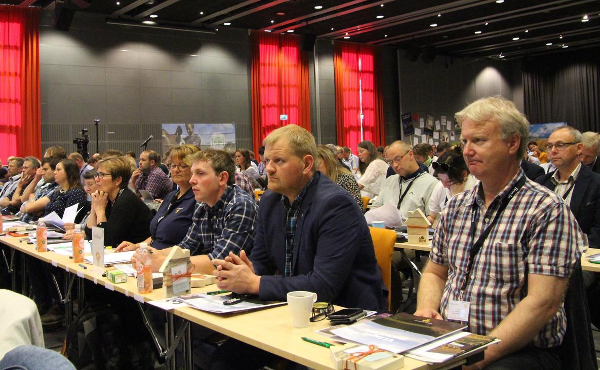Nordland Bondelags delegater og organisasjonssjef