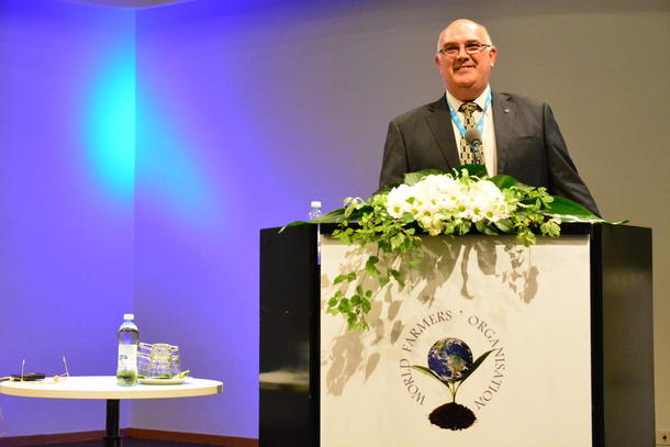 Theo de Jager ny president i World Farmers' Organisation