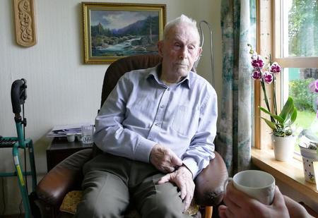 Steinar Lima vart 100 år 8. august og er det eldste medlemmet i Norges bondelag.