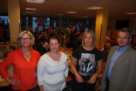 Fra venstre: Anne Kristine Rossebø, Frøydis Haugen, Hanne Guåker og Per Heringstad