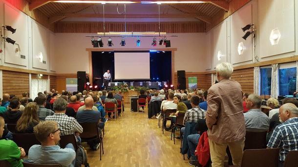 Ope møte i Bjerkreim.