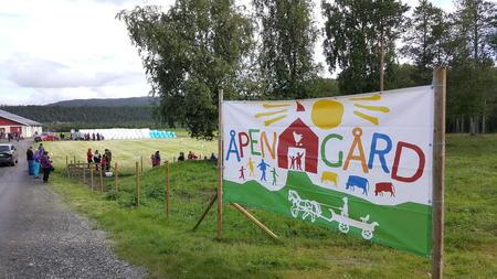 Åpen gård i Alta