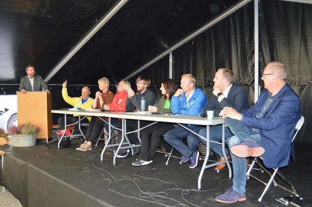 Politikerdebatt på Dyregod i Gjemnes 1. september 2017
