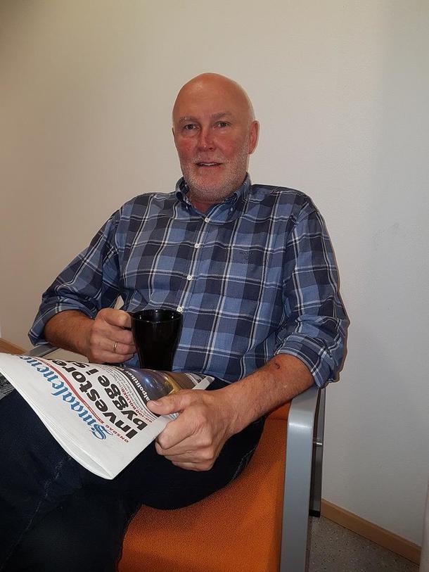 Fylkesleder Svend Arild Uvaag