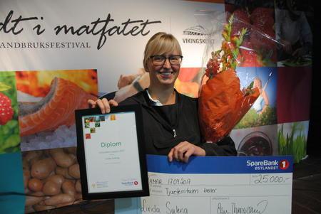 Årets vinner av Innlandets Matpris, Linda Suleng