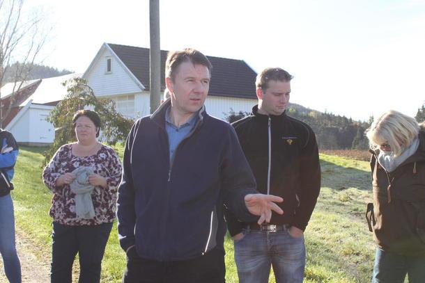 Lars Petter Bartnes på flombefaring i Agder tidligere denne uka