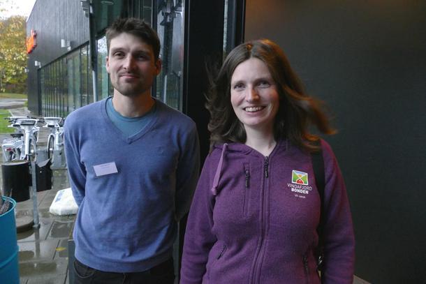 Torbjørn Madland og Inga Steinsland var to av 31 påmelde lokallagsleiarar på leiarmøte i Rogaland bondelag.