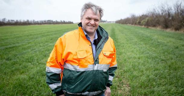 Olav Røysland frå Voll i Klepp kan få Innovasjonsprisen 2018 av Norsk Landbrukssamvirke.