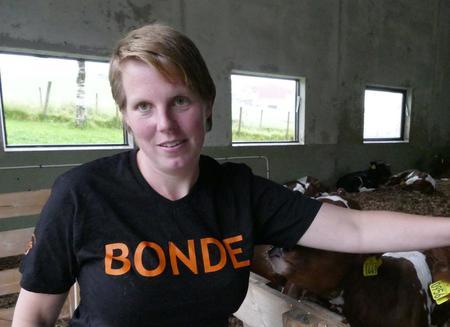 Marit Epletveit, leiar i Rogaland bondelag, støttar forslaget frå Norsvin om veterinærkrav i svinenæringa.