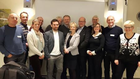 Første møtet i RBU gruppa vart gjennomført i Bergen den 6. desember